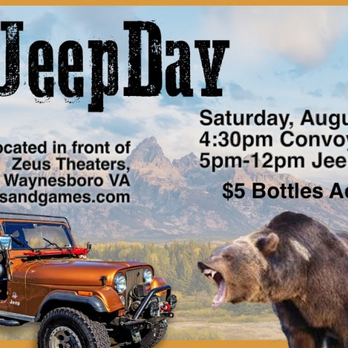 Jeep Day at Bottles