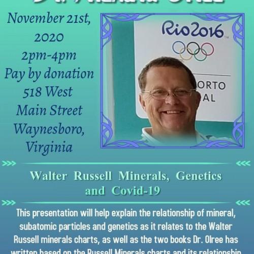 Guest Speaker- Dr. Richard Olree