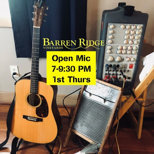 Open Mic Nights at Barren Ridge