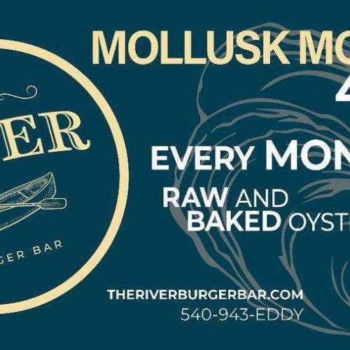 Mollusk Monday at The River Burger Bar