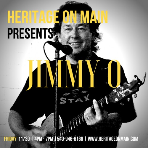 Live Music with Jimmy O at Heritage on Main