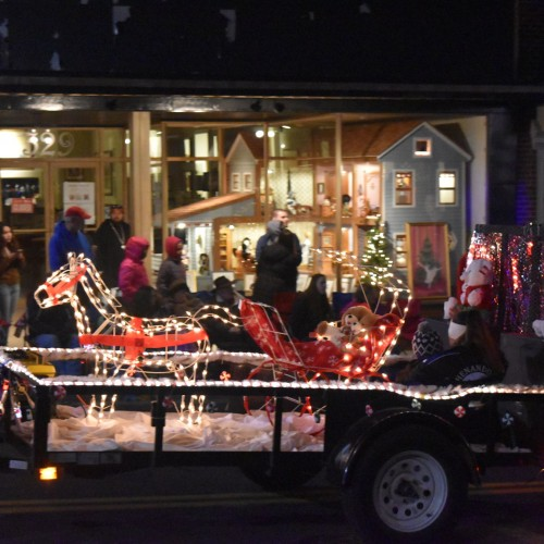 Reverse Christmas Parade