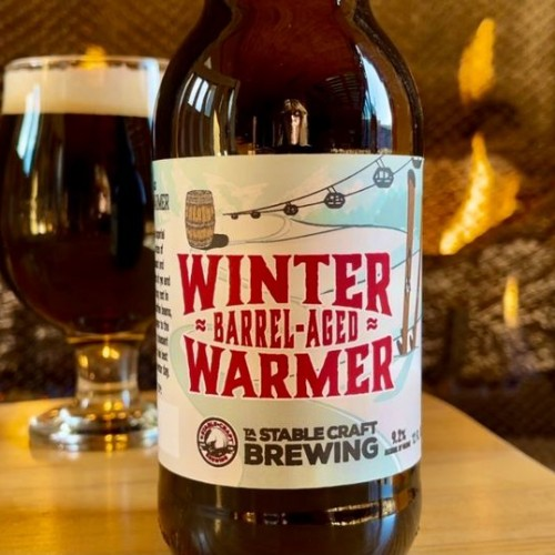 Barrel-aged Winter Warmer Beer Release at Stable Craft Brewing