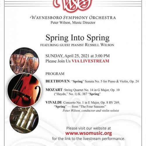 Waynesboro Symphony Orchestra Spring Concert