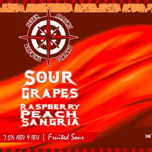 Sour Grapes Raspberry Peach Sangria Release!