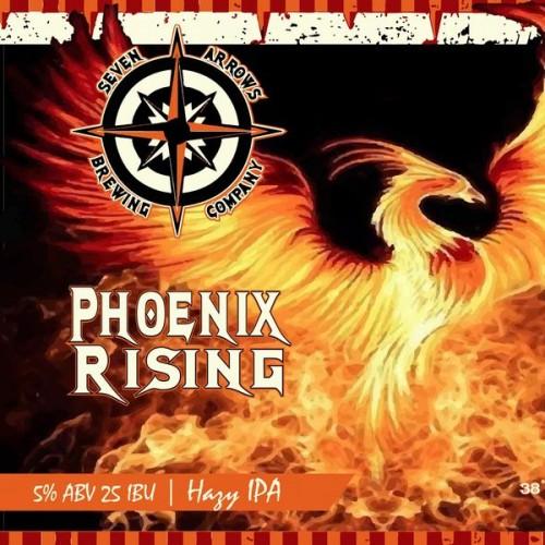 Phoenix Rising Hazy IPA Release!