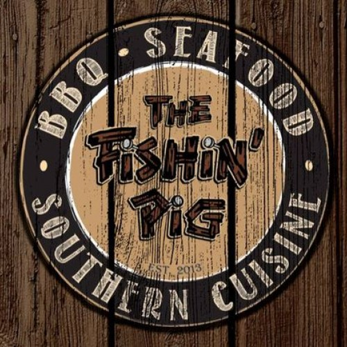 Friday Night at the Fishin' Pig with Live Music by the Blue Ice Band