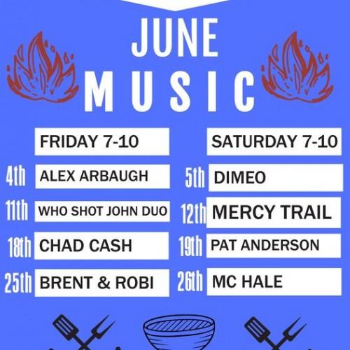 Live Music In June at E&J's Deli Pub