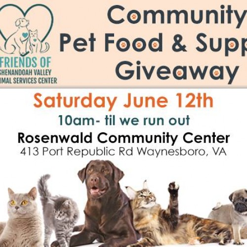 Community Pet Food & Supplies Giveaway