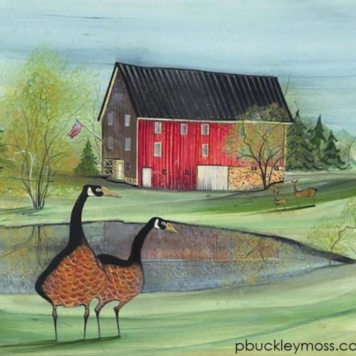 P. Buckley Moss Barn Show