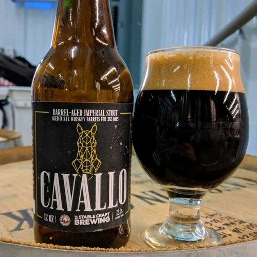 Barrel-Aged Imperial Stout - Cavallo Release Party 2019