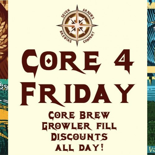 Core 4 Fridays at Seven Arrows 2020