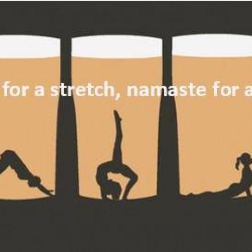 OM Brew Yoga at Seven Arrows Brewing