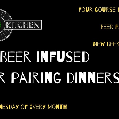 Beer Infused Beer Pairing Dinner
