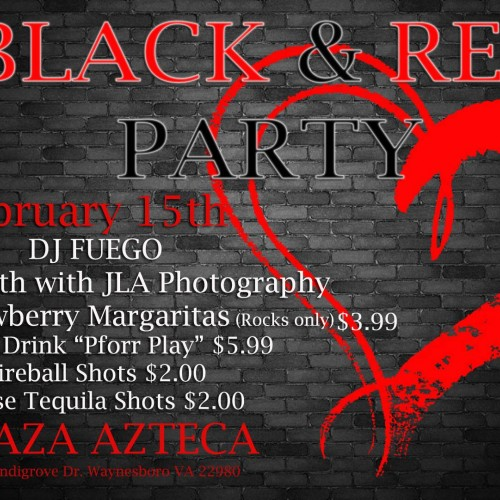Black and Red Party