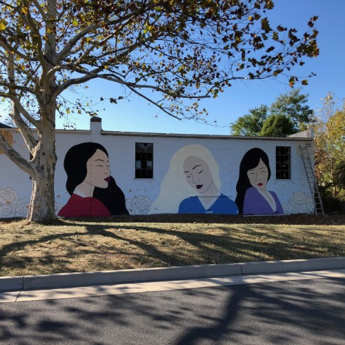 Waynesboro Mural: Sun, Moon, & Stars Ladies