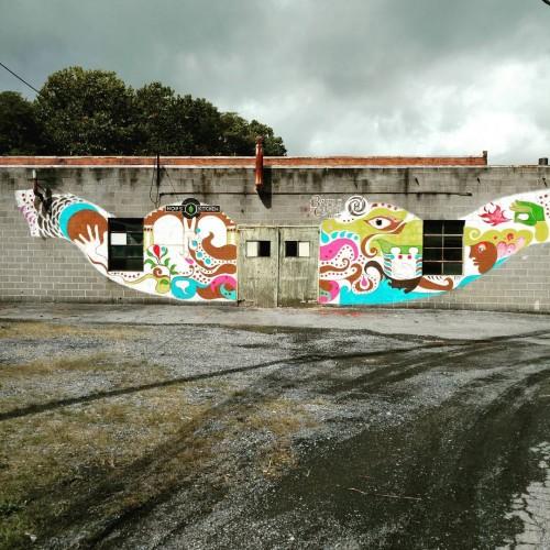 Waynesboro Murals: at Basic City