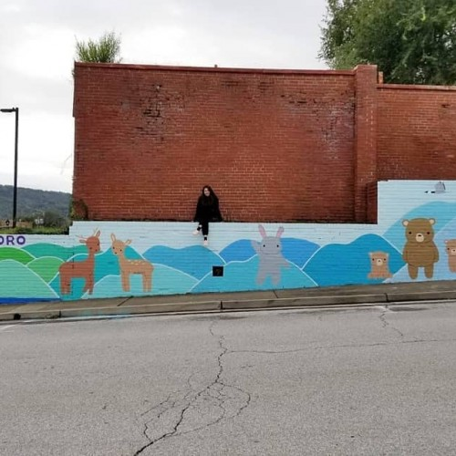 Waynesboro Mural: Small Blue Ridge
